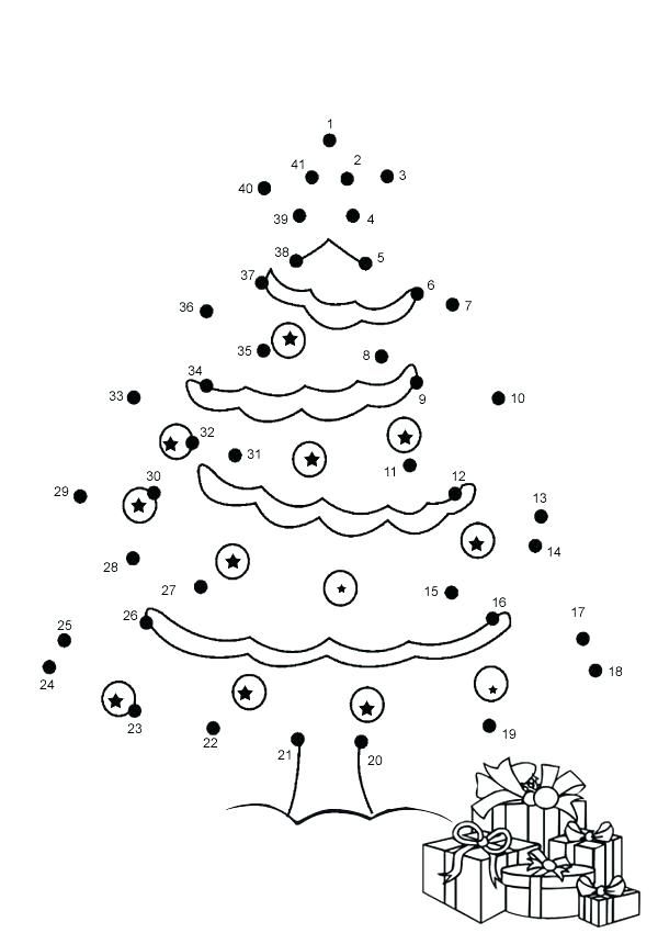 Dot To Dot Coloring Pages Connect The Dots As Well As Dot To Dot Coloring Pages For To Produce A Christmas Worksheets Christmas Coloring Pages Christmas Colors