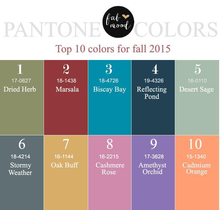2015+fall+wedding+colors | Reflecting Pond Wedding Color – Pantone Color Fall 2015