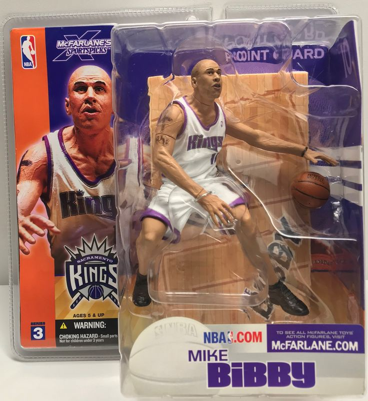 The Angry Spider Has All Of The Toys You Want For Your Collection: TAS038598 - 2003 ...  Check it out here! http://theangryspider.com/products/tas038598-2003-mcfarlane-toys-nba-kings-mike-bibby?utm_campaign=social_autopilot&utm_source=pin&utm_medium=pin