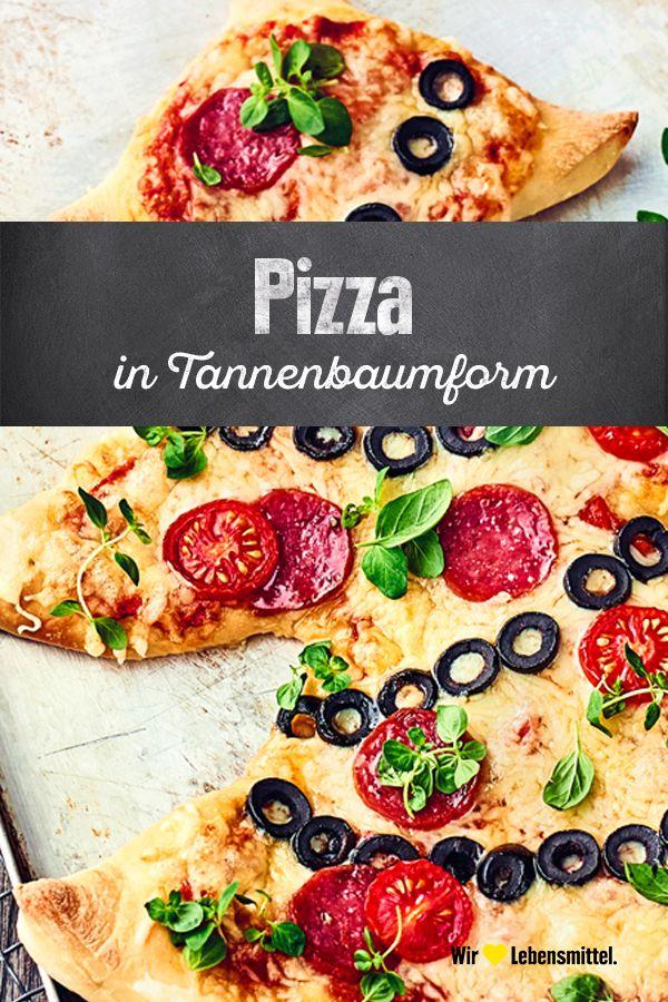 Pizza Tannenbaum.Es Muss Ja Nicht Jedes Jahr Eine Echte Tanne Zu Weihnachten Sein