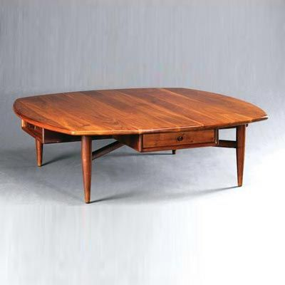 Sam Maloof, 1961, Walnut Coffee Table With four drawers, stamped Designed Made/