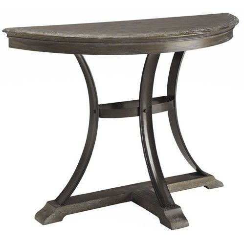 Coast To Coast 91764 Heritage Demilume Console Table In Grey