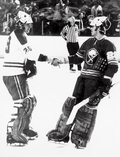 In 1971 Montreal Canadiens Ken Dryden faced his brother Dave Dryden of the Buffalo Sabres in the first ever matchup of brothers in goal during an NHL game, won 5-2 by Montreal.