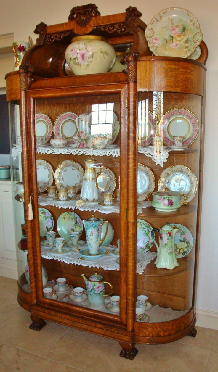 91 best Victorian China Cabinets images on Pinterest | China ...