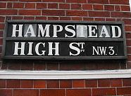 Love the old street signs in Hampstead.