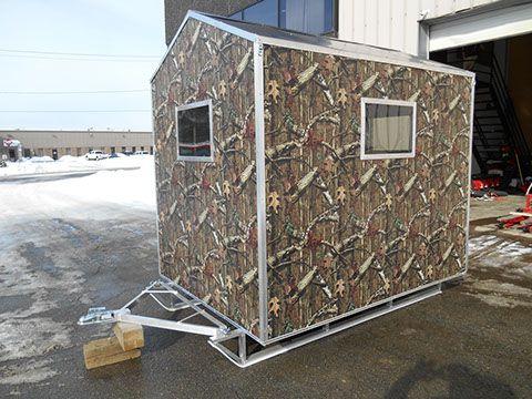 Aluminum Ice Houses