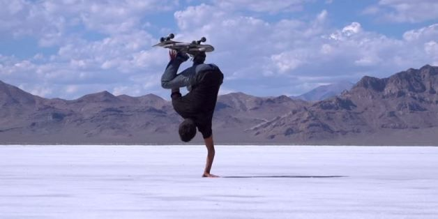 Take A Few Minutes To Watch The Most Incredible Skateboard Video You've Ever Seen