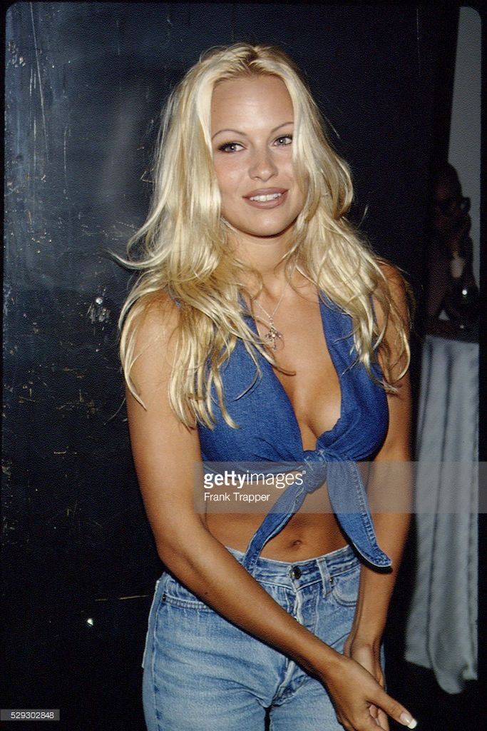 Pamela Anderson at Playboy Party