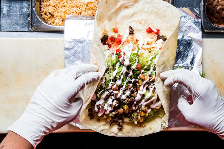 The Story of the Mission Burrito, Piled High and Rolled Tight - Bon Appétit