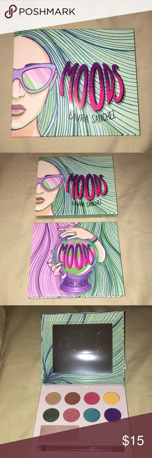 BNIB Moods by Laura Sanchez Full Size Palette Brand New In
