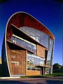 Kiasma, the Museum of Contemporary Art by Steven Holl in Helsinki.
