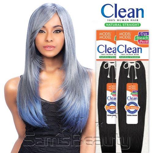 Modelmodel Human Hair Weave Clean Natural Straight Dream