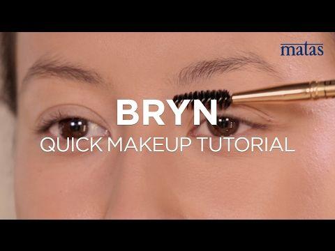 Quick Makeup - naturlige markede bryn - YouTube