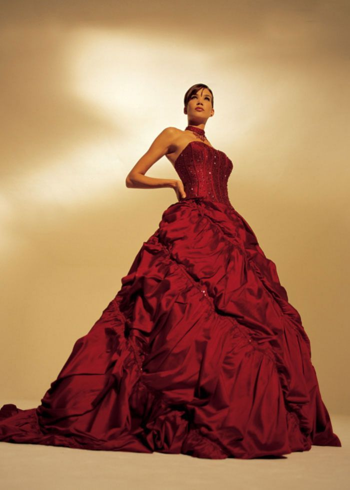 Beautiful In A Red Dress You Have To Guts Get Married