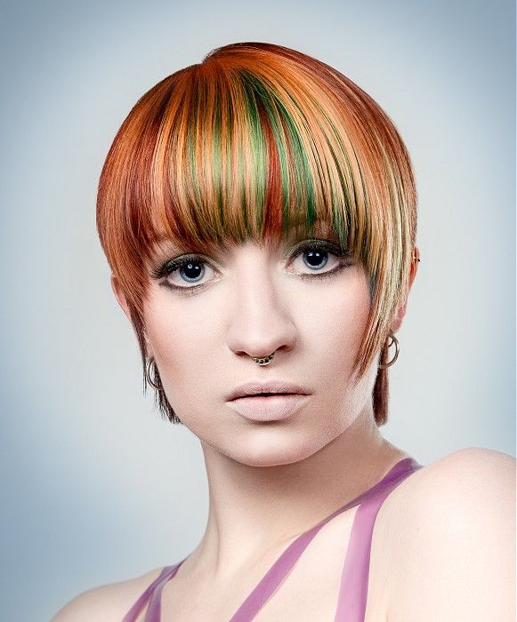 haircuts that are in style 45 best orange hair images on colourful hair 4191