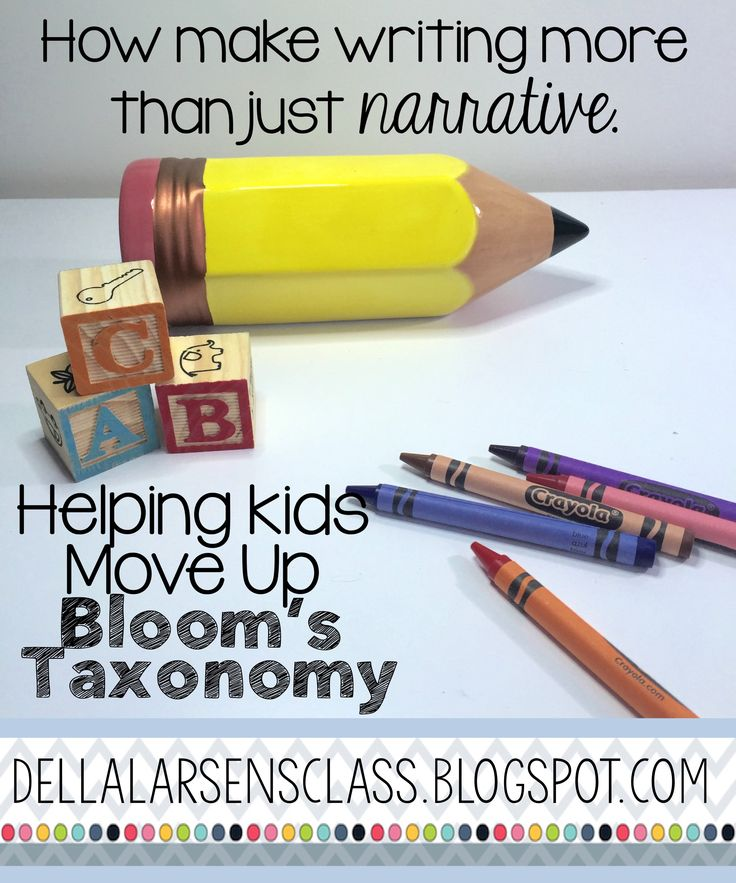 Tips to help move your kindergarten students up Bloom's Taxonomy and get them…
