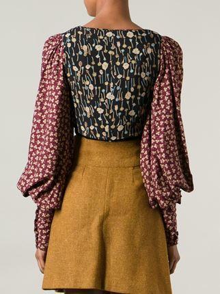 Biba Vintage Clover Print Bolero - Decades - Farfetch.com