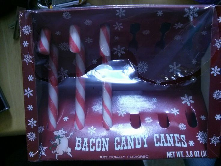 The best way to start an x-mas!! BACON!! :D