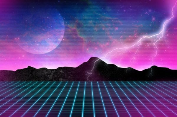 new retro wave wallpaper - Buscar con Google