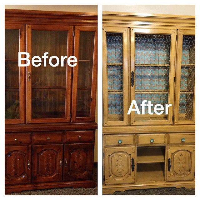 Hutch With A Face Lift Annie Sloan Chalk Paint Was Used