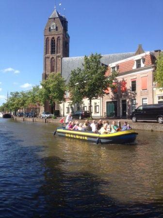 Met een Grachtenvaert in Oudewater kun je de stad bekijken vanaf het water!