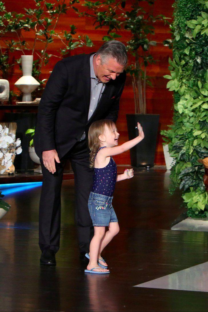 Alec Baldwin's Daughter Carmen Dances Her Little Tush Off on The Ellen Show