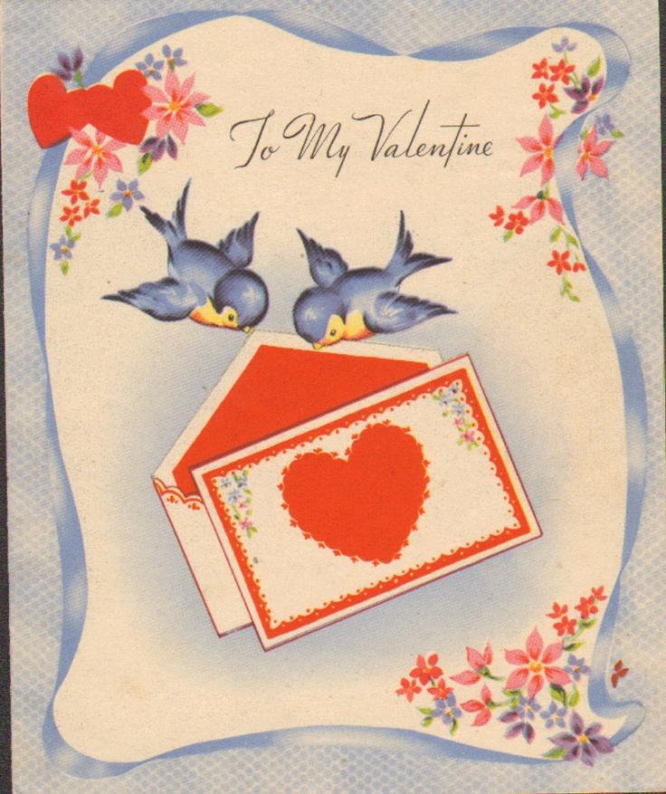 bluebird valentine