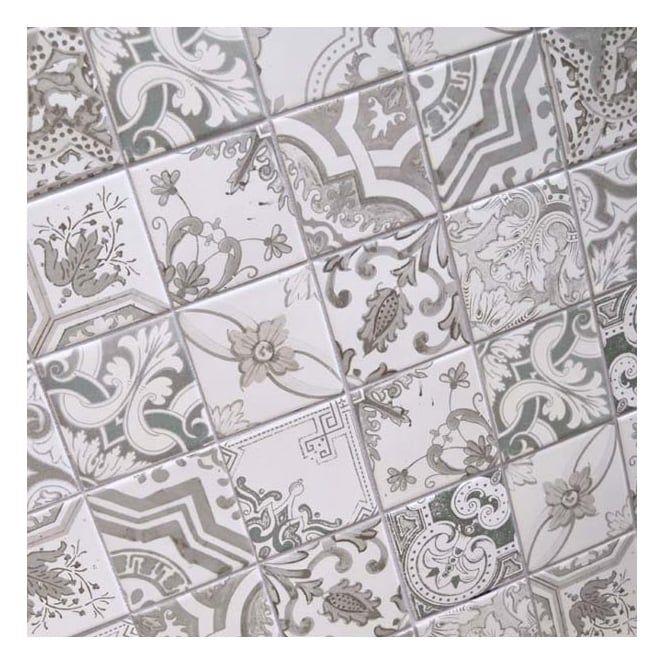 Nikea Sephia 10cm X 10cm Wall Tile Tile Patterns Wall Patterns Patterned Floor Tiles