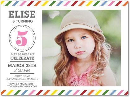 Birthday Delivery - Birthday Party Invitations - Magnolia Press - Heather - Pink : Front