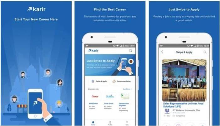 Aplikasi Job Seeker Pendidikan Teknologi Aplikasi