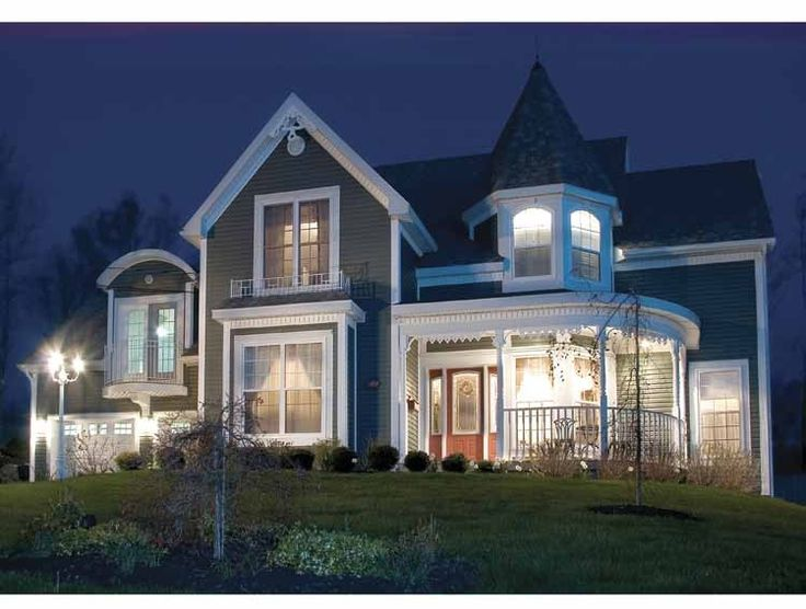 Eplans Queen Anne House Plan - Style and Charm of Yesterday - 2590 Square Feet and 3 Bedrooms(s) from Eplans - House Plan Code HWEPL10383