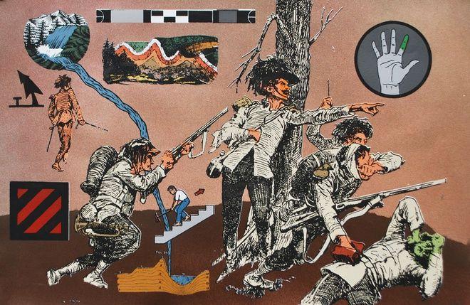 Ryan Metke, Hold the Line, 2014 at www.meadcarney.com  #RyanMetke #MeadCarney #London #art #artgallery