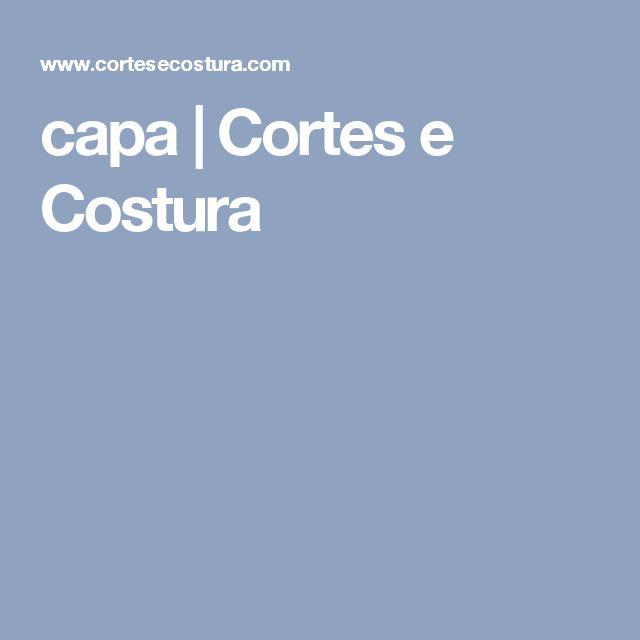 capa | Cortes e Costura