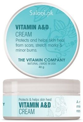 The Vitamin Company Vitamin A & D Cream 40 Grams