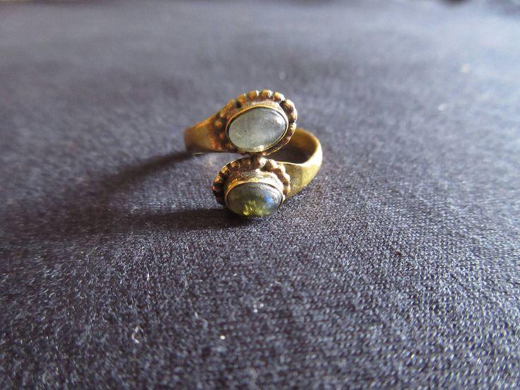 Adjustable Ring with Stones di JekoStore su Etsy