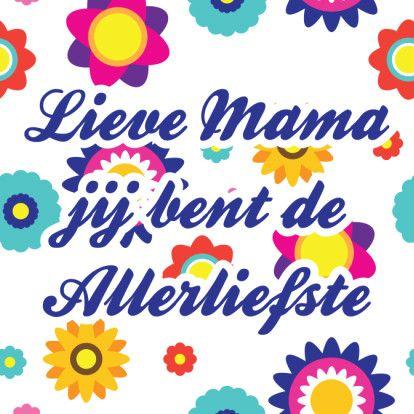 Alies Design moederdag 1 - Moederdag kaarten - Kaartje2go