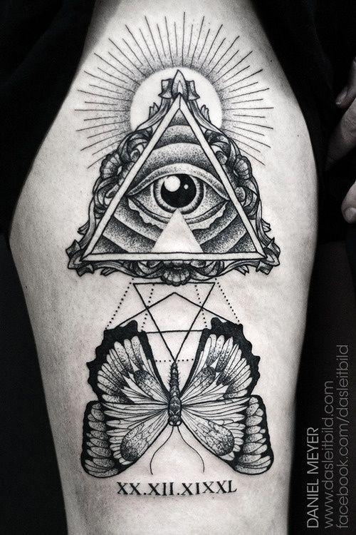 Illuminati Eye Tattoo Meaning Best 25+ Illuminati Ey...
