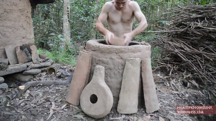Primitive Technology demonstrated how to make a clay kiln and all sorts of primitive pottery from a termite mound. Fans of Primitive Technology can help support his future work on Patreon. I starte…