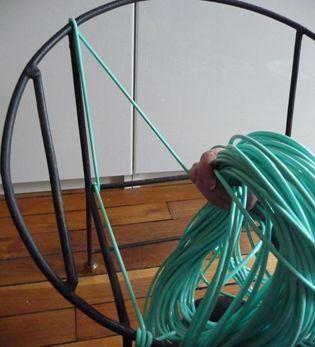 1000 id es propos de hamac en crochet sur pinterest - Chaise en fil scoubidou ...