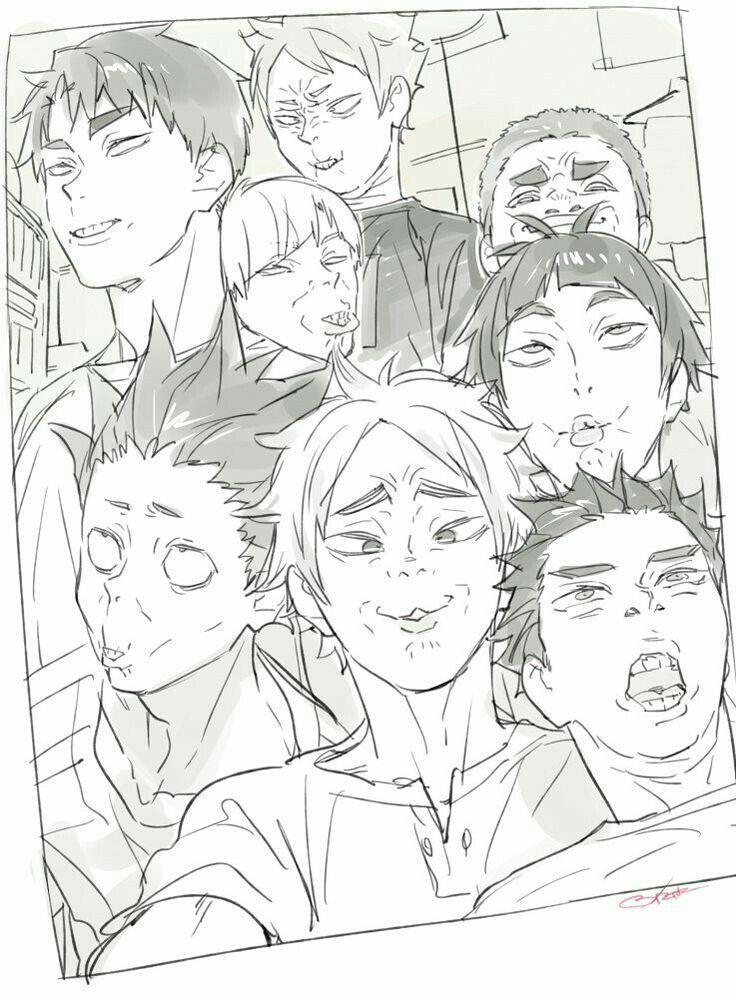 Haikyuu No Receh di 2020 Haikyuu, Gambar anime