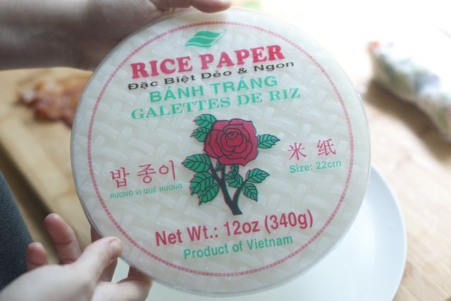 Rice Paper Wraps - How to buy and use rice papers.