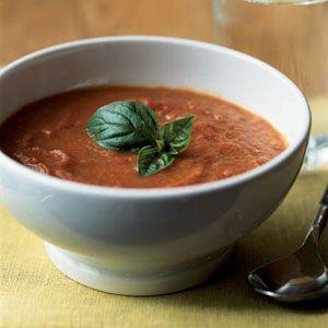 Theresa's Double-Tomato Soup   MyRecipes.com #vegetable #myplate