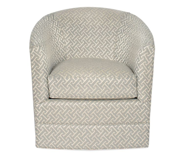 Charlize Swivel Chair - This item may be custom ordered in over 400 covers! The Charlize swivel chair is small in scale