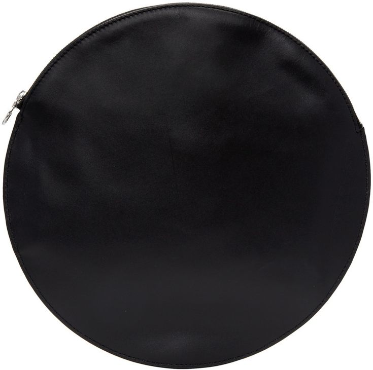 Kara - Black Circle Pouch