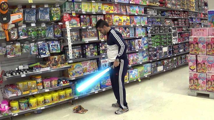 Sabre de luz do Obi Wan Kenobi ✶Anakin Skywalker vs. Obi-Wan Kenobi✶Toy ...