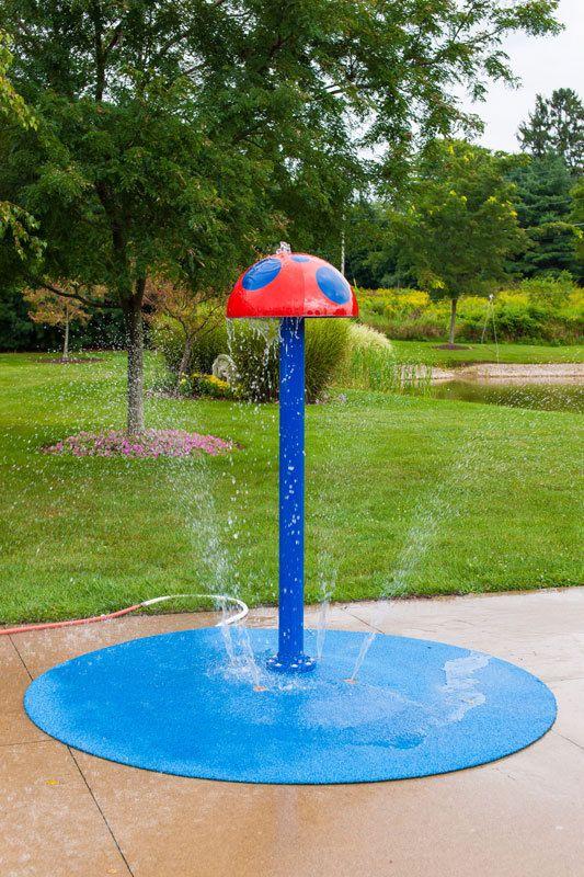 Mushroom Portable Splash Pad Water Play Feature | Splash ...