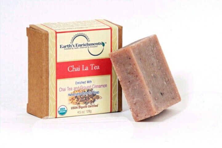 Here's the answer to yesterday's question: Believe it or not, Chai Tea has a substantial amount of antioxidant nutrients that are good for your skin. Who knew? #chaitea #antioxidants #organicsoap #skincare http://earthsenrichments.com/usda-certified-organic-body-bars/chai-la-tea/