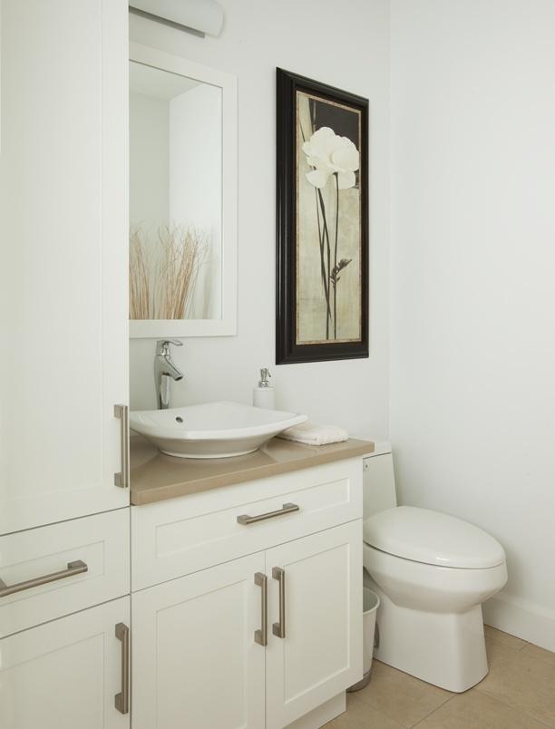 Salle de bains -Vanité et armoires