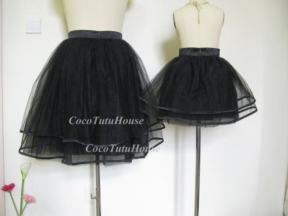 Mommy and Me Tutu Skirt Set/ Mother and Daughter by CocoTutuhouse