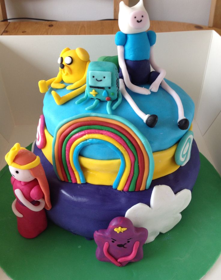Adventure Time cake.... 21st birthday!